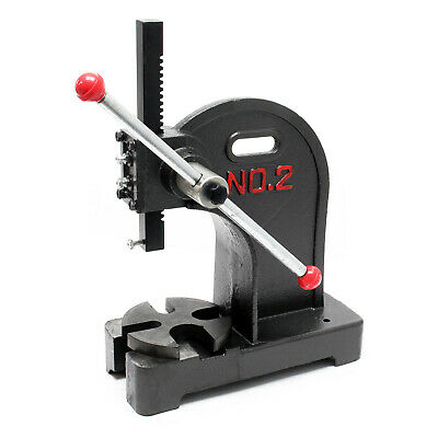 Turning arbor press up to 2T Workshop press Hand press Hand lever press Punching
