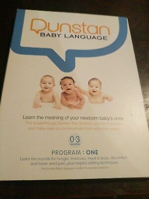 Dunstan Baby Language 0 to 3 Months Programme One DVD