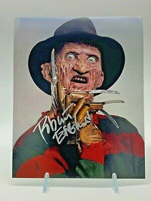 ROBERT ENGLUND Signed 10x8 Photo NIGHTMARE ON ELM STREET AFTAL OnlineCOA