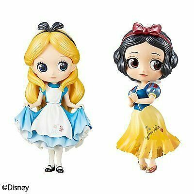 Q posket Disney Characters Special Coloring vol.1 Figure Alice Snow White JAPAN