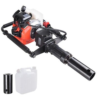 2 Stroke Motor T Post 32.7cc Pile Driver Gas Gasoline Petrol Garden Tool Machine