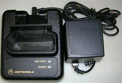 Motorola NYN8346B NYN8354B Minitor III & IV 3 4 Fire EMS Pager Battery Charger