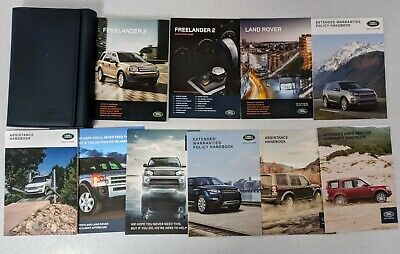 Land Rover Freelander 2 Handbook Owners Manual Wallet 2010-2012 Pack K-823