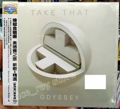 Take That Odyssey Taiwan 2 CD OBI Digipak Deluxe Greatest Hits Best 2018 NEW
