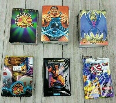 X Men 1996 Fleer Ultra Trading Cards - Marvel Masterpieces 1992 Skybox Marvel
