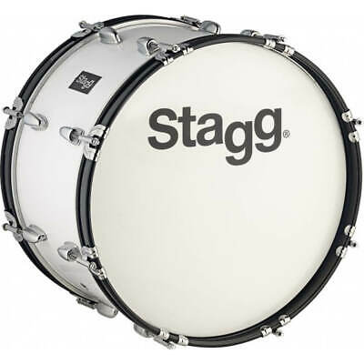 "Stagg MABD-2210 22"" x 10"" Marching Bass Drum w/ strap &beater"
