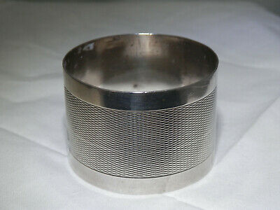 Antique French silver napkin ring, KIRBY BEARD & CO