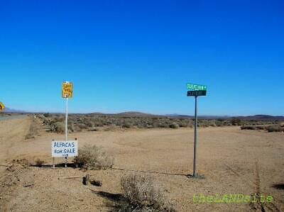 N EDWARDS (Air Force Base) S. CALIFORNIA! 2 acres on PAVED road! HI BID WINS!
