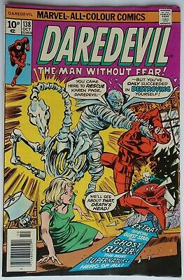 Marvel Comics Daredevil Vol 1 #138 October 1976 (Fn Condition)