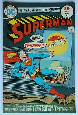 Superman Vol 1 #287 May 1975 (Vg Condition)