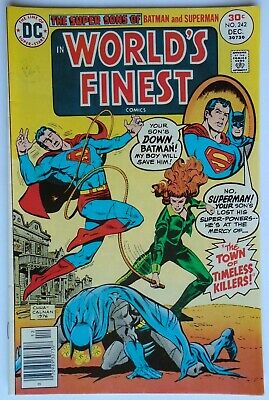 World's Finest Comics Vol 1 #242 December 1976 (Nm Condition)