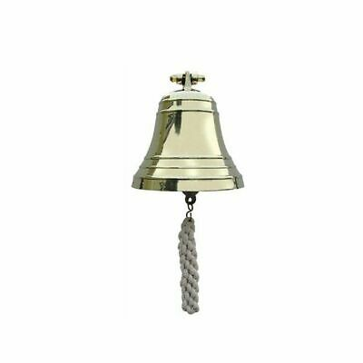 G4446: Ship's Bell with Wall Holder, Bell Heavy Variety, Brass Ø 15 Cm
