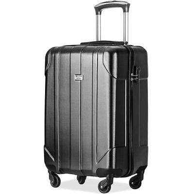 Merax Hard Luggage Light Weight  P.E.T Spinner Suitcase 20inch 24inch 28 inch