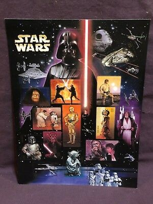 USPS 2007 Star Wars 30th Anniversary Stamp Sheet 15/41c Mint