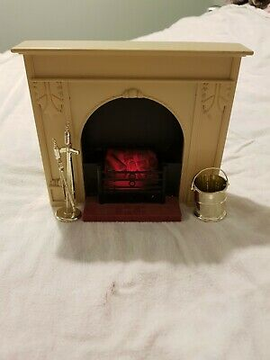 Vintage Sindy Fireplace & Companion Set with Coal Scuttle