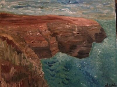 Original oil painting Impressionist Landscape 16x20 canvas Direct From Artist