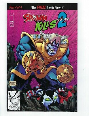 SPAWN KILLS EVERYONE TOO # 4 Homage Cover A NM Image