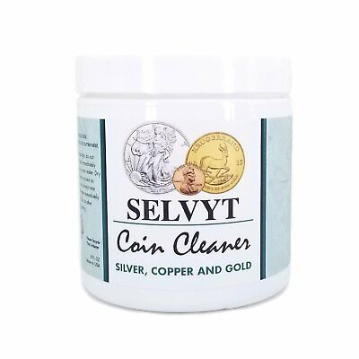 8oz Selvyt Silver Coin Cleaner Instant Tarnish Remover Silver Copper Gold Ezest