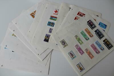 GAMBIA Fine Mint and Used Stamp Collection from 1967 to 1987