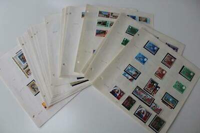 GIBRALTAR Fine Mint and Used Stamp Collection from 1967 to 1981