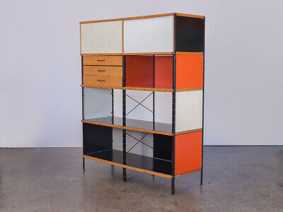 First Edition Charles U0026 Ray Eames ESU 400 C Storage Unit For Herman Miller