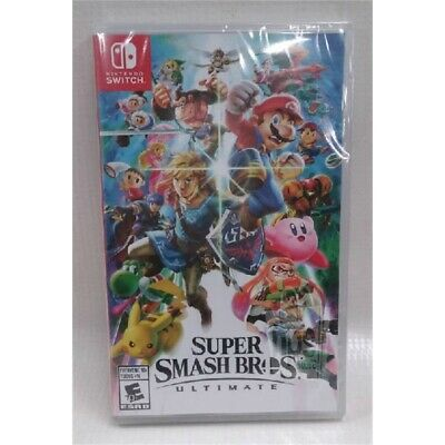 Super Smash Bros. Ultimate Game for Nintendo Switch Canada Release Rated E NEW