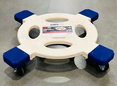 Olympia Tools Round Platform Dolly 363kg 800lbs Capacity Furniture Tools