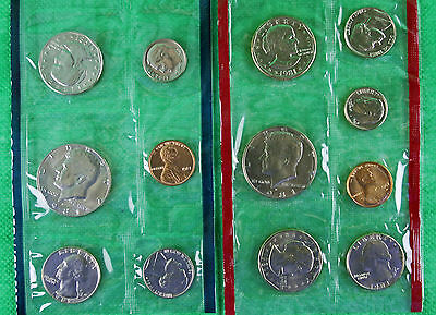 1981 United States Mint P D and S SBA Uncirculated 13 Coins Annual BU Coin Set