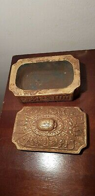 Rare Antique Ancient Egyptian Jewlery Box wit Scarab Music Women Isis1427-1401BC
