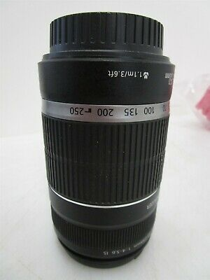 Canon 55-250mm f4-5.6 IS Zoom EF-S Lens Camera Photo Photography