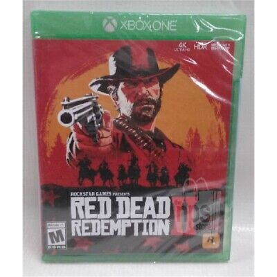 Red Dead Redemption II Video Game for XBOX One Rated M (Mature 17+) 2018 NEW