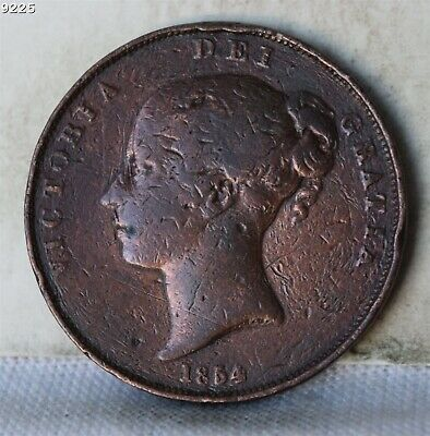 1854 Great Britain One Penny *Free S/H After 1st Item*