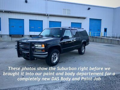 1996 Chevrolet Suburban 2500 4WD UBURBAN 2500 DIESEL / NEW EVERYTHING / FULLY RESTORED / NICEST IN COUNTRY !!!