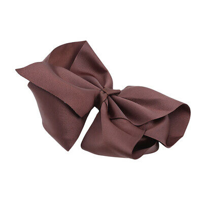 Fashion Chic Large Cloth Hair Bows Clips Boutique With Alligator Clip S