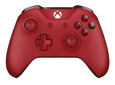 Official Microsoft Xbox One S Wireless Controller Red