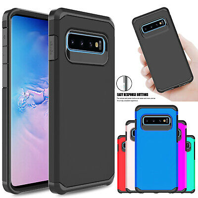 For Samsung Galaxy S10 Plus S10+ Shockproof Slim Protective Rugged Case Cover