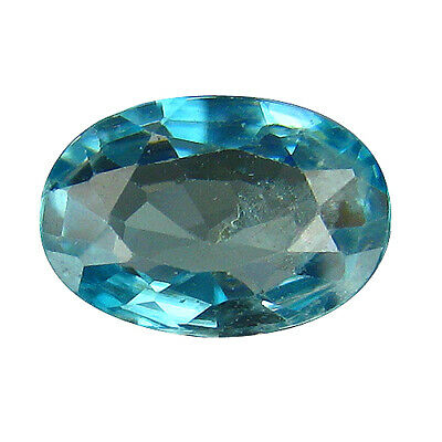 2.08Ct NATURAL HOT BLUE ZIRCON HEATED FROM CAMBODIA