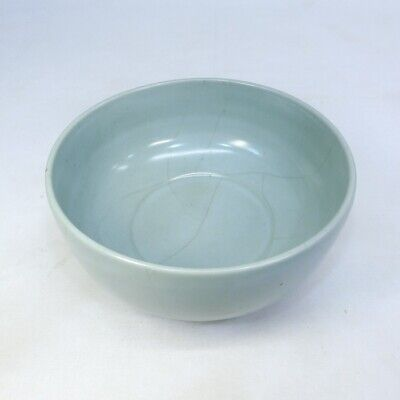 D458: Chinese blue porcelain BIG bowl with appropriate tone.