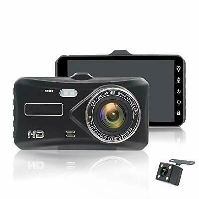 "HD 1080P Vehicle Blackbox Rear Camera 4""Touch Screen Car DVR Vehicle Recorder"