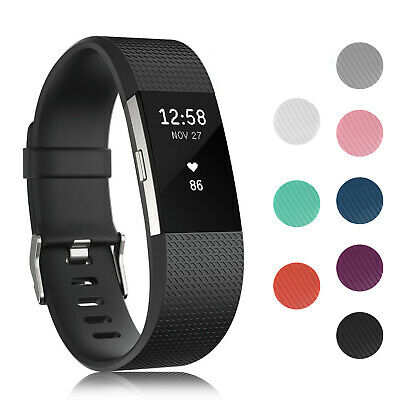 Replacement Strap For FitBit Charge 2 Sports Bracelet Watch Wristband Band GLTZ