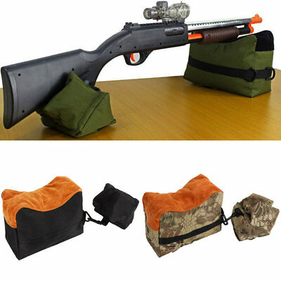 Rifle Air Gun Front And Rear Rest Bench Bag Hunting Shooting Support Sandbag S