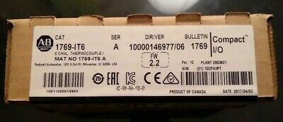 Allen-Bradley 1769-IT6 A Compact I/O Factory Sealed
