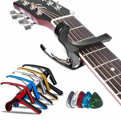 Premium Guitar Capo Trigger Clamp for Acoustic Electric Classical Basses Ukulele