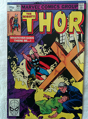 "The Mighty Thor #303 ""Whatever Gods There Be"" Marvel Comics dated Jan 1981"