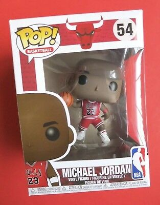 Funko POP! Michael Jordan Jersey NBA #54 Basketball Chicago Bulls MJ 23 Mint