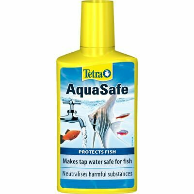 Tetra Aquasafe Water Conditioner 50ml Tap Water Dechlorinator