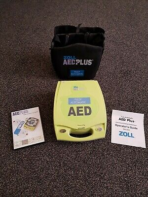Zoll AED Plus Defibrillator NEVER USED with accessories....Perfect condition