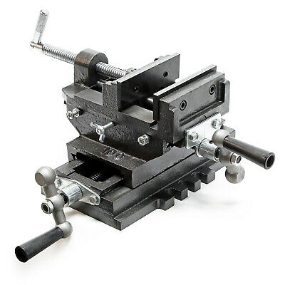 Machine vice 2 axis Cross Milling table Workbench Drilling fixation