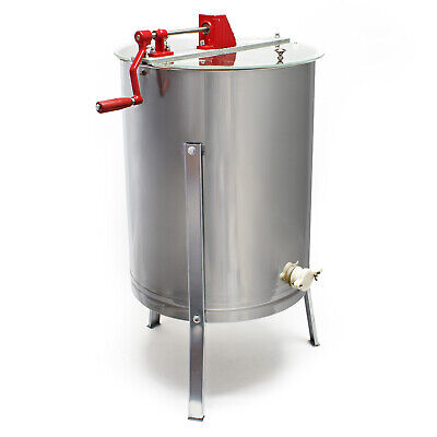 Manual honey extraction 4 frames honeycomb stainless steel Zander apiculturist