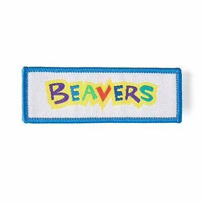 Beaver Scout Fun LOGO badge NEW